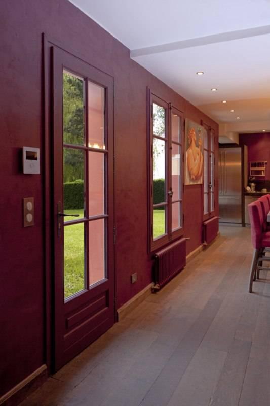 fen tre bois fixe sur mesure gamme estibois pose en feuillure. Black Bedroom Furniture Sets. Home Design Ideas