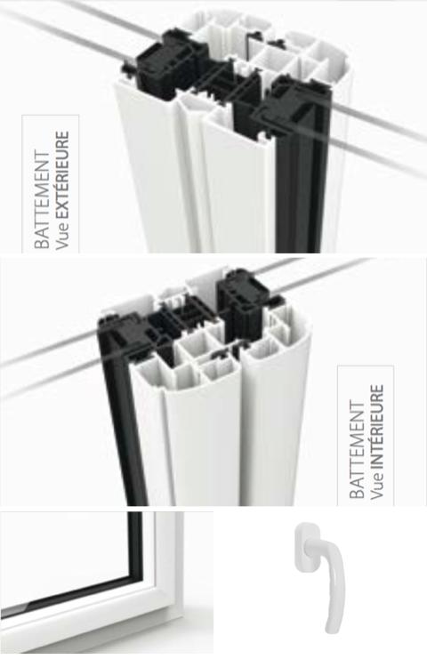 Détails techniques de la gamme de fenêtres STARALU PREMIUM et OPTIMA
