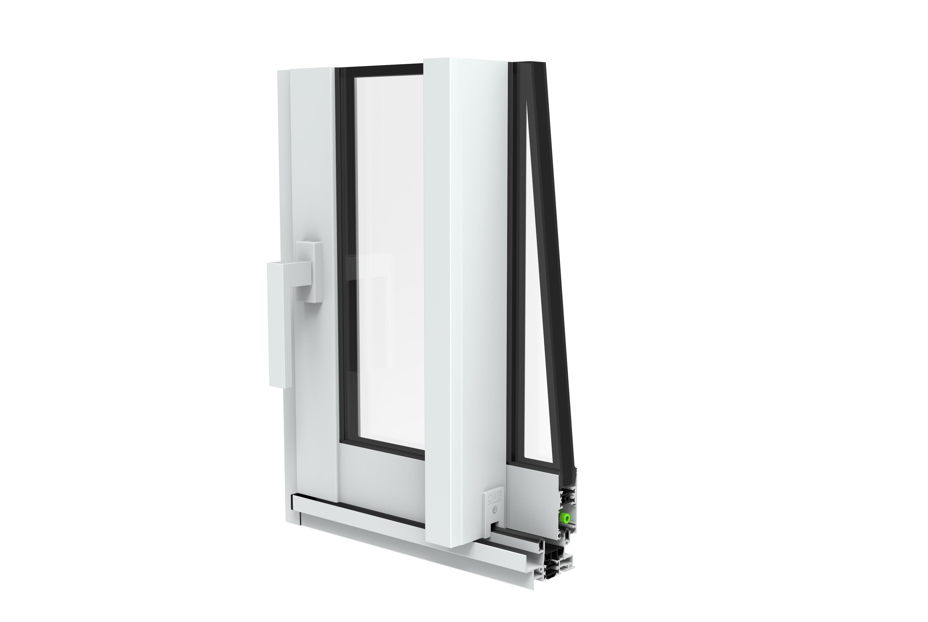 Nettoyer Volet Roulant Vitre Fixe fenêtre aluminium fixe sur mesure