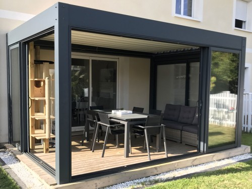 installer une pergola bioclimatique