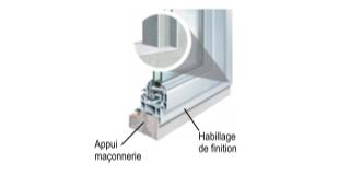 fenêtre aluminium 2 vantaux sur mesure