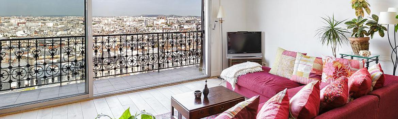 Appartement baie vitrée pour plus de lumière