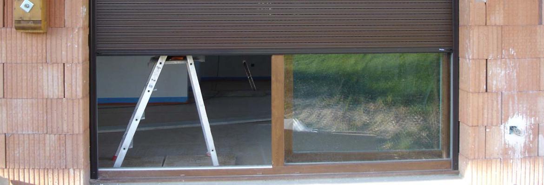 Volet roulant baie vitr e vial la solution monobloc - Prix baie vitree coulissante avec volet roulant ...