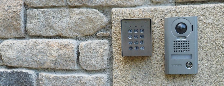 Boitier digicode pour ouverture du portail sans télécommande