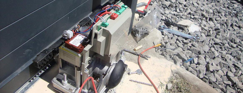 Détails sur le cablage d'un moteur de portail coulissant