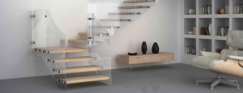 L'escalier autoportant, un aménagement pratique et design