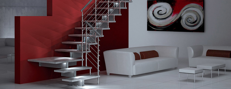 Un escalier avec led intégré, une façon moderne d'éclairer ses marches