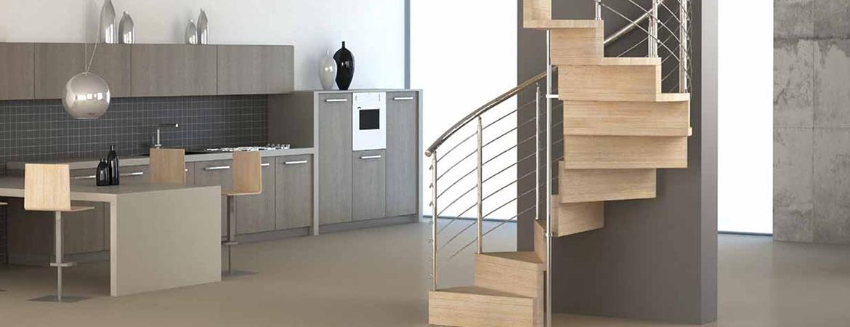 Escalier contemporain bois, une tendance déco qui se confirme