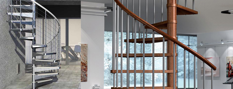L'escalier contemporain en métal