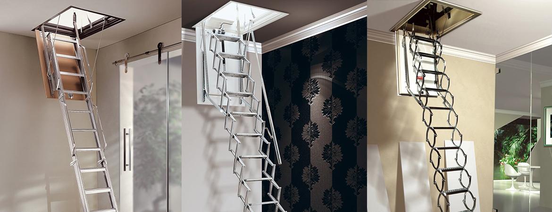 Un escalier escamotable, une solution pratique pour un escalier secondaire