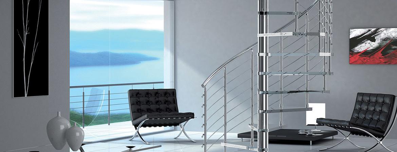Un escalier hélicoïdal : nos conseils pour le choisir