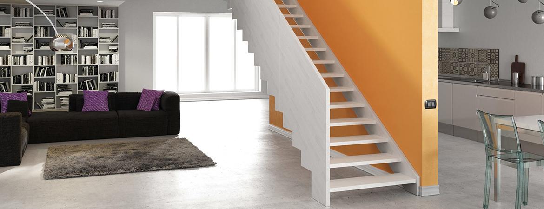 Quels matériaux pour un escalier moderne droit ?