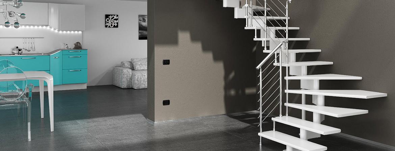 Un escalier suspendu : un style épuré pour votre intérieur