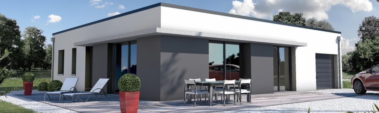 Habitation contemporaison avec des menusieries alu : le bon choix