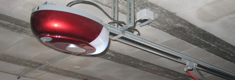 Motorisation de porte de garage sectionnelle