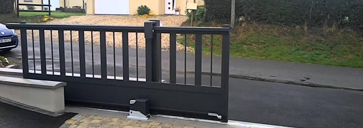 Fonctionnement de portail automatique for Portail coulissant electrique