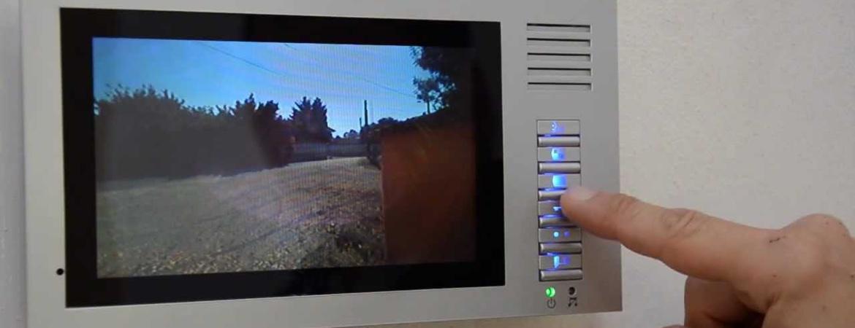 Installer un visiophone pour commander l'ouverture d'un portail électrique