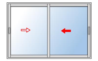 Fenêtre Coulissante Aluminium 2 Vantaux Gamme Staralu Premium Pose