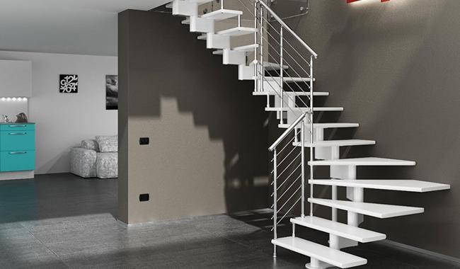 Escalier hélicoïdal circulaire nice chrome