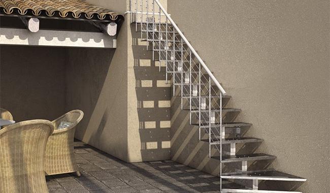 Escalier extérieur ARNOLD