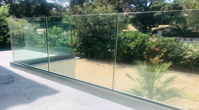 Garde-Corps Panoramique en verre