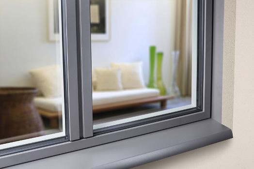 Fenêtre en aluminium sur mesure, pour neuf ou rénovation