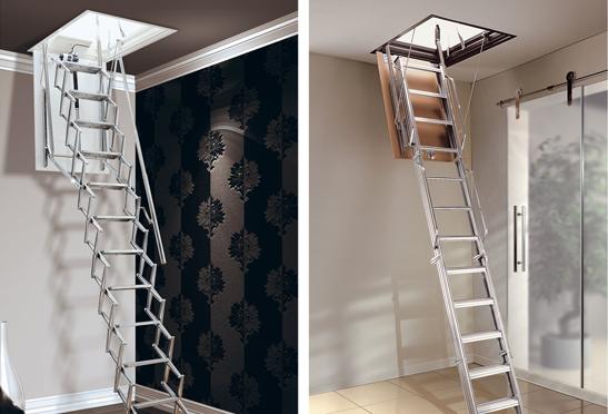 L'escalier escamotable