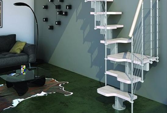 L'escalier modulaire spécial accès réduit