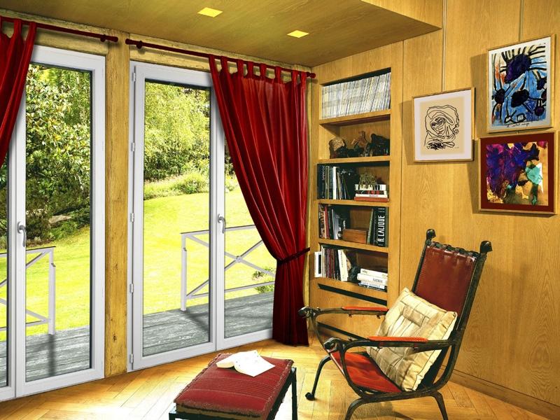 Fenêtre PVC Veka pour un bureau