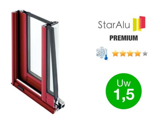 Gamme de fenêtres aluminium STARALU PREMIUM