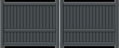 Portail aluminium heracles
