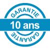 Garantie de 10 ans sur toutes les portes de service PVC