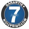 Motorisation garantie 7 ans