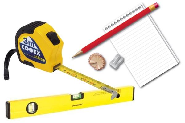 Les outils de base pour bien prendre les côtes d'un volet roulant